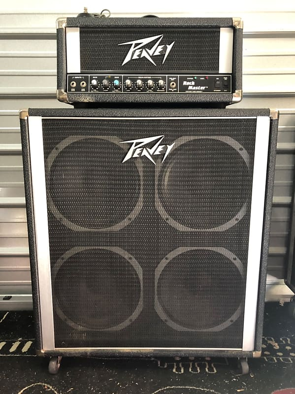 rare peavey rock master half stack collectiveedu reverb. Black Bedroom Furniture Sets. Home Design Ideas