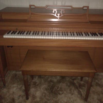 1932 Hallet & Davis Upright Console Piano