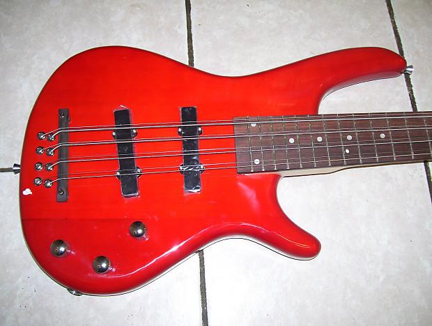 8 string bass guitar 4 pair of 8 string 2015 red reverb. Black Bedroom Furniture Sets. Home Design Ideas
