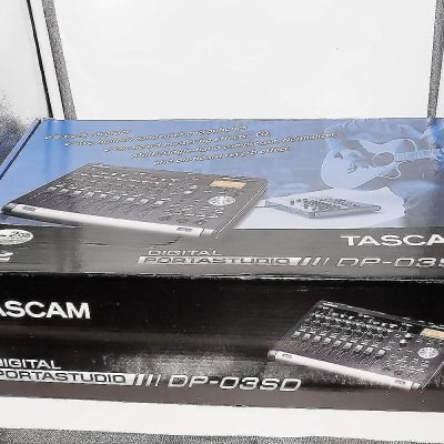Tascam DP-03SD 8-track Digital Portastudio (Open) -Demo -100%-Perfect-