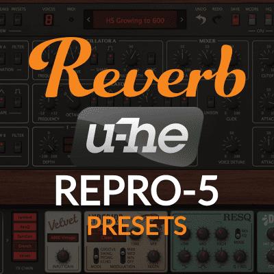 u-he Repro-5 | Reverb Exclusive Presets image