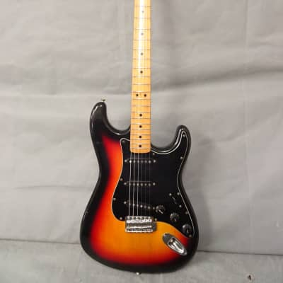 1980s Tokai Silver Star Stratocaster Guitar 3 Tone Sunburst for sale