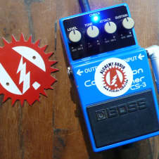 Early Japan MIJ Boss CS-3 Compressor Alchemy Audio Modified Effects Pedal