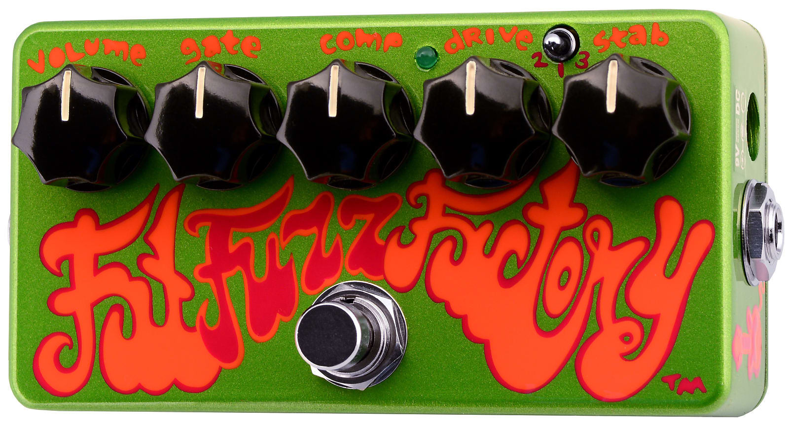 ZVEX Fat Fuzz Factory Hand-Painted Fuzz Effects Pedal