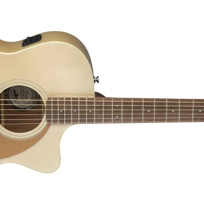 Fender Newporter Player Acoustic-Electric Guitar | Champagne for sale