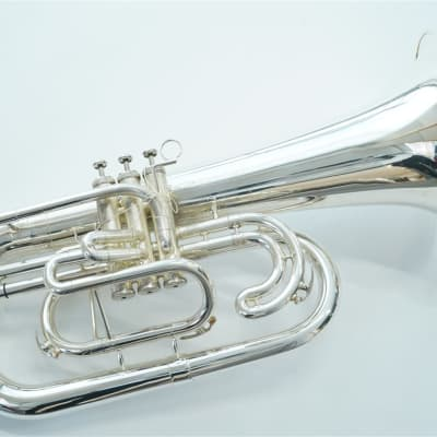 Dynasty Marching Euphonium M576S Silver Plated