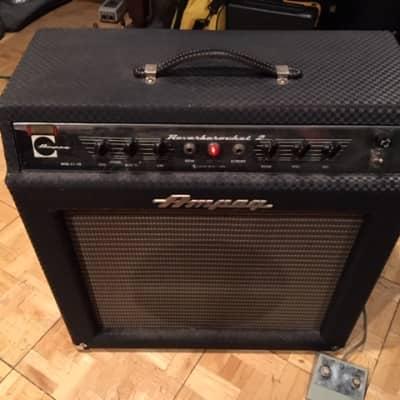 "Ampeg GS-12R Reverberocket 2 12-Watt 1x12"" Guitar Combo with Reverb 1960s"