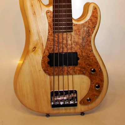 Kritz Vintech 5-string P-Bass 2020 Ultramat for sale
