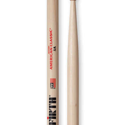 Vic Firth 5A Wood-Tip Drum Sticks