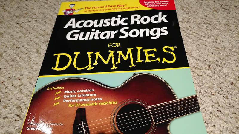 Hal Leonard Acoustic Rock Guitar Songs For Dummies