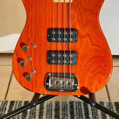 G&L Asat Bass Left Handed USA Made for sale