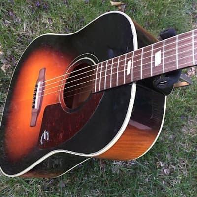 Used Epiphone Texan VS Acoustic Guitar With Original Case & Fishman Pickup