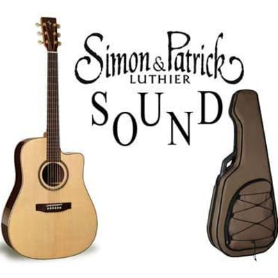 Simon & Patrick Simon & Patrick Showcase Rosewood CW con pickup AER (simile a Martin D-28) - Made in for sale