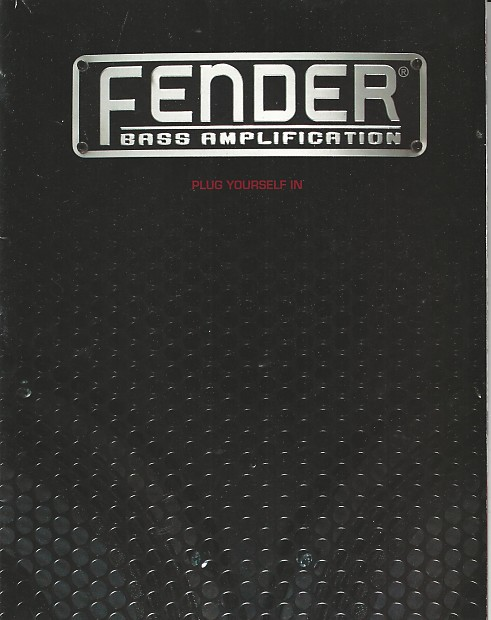 FENDER CATALOG 2003 EBOOK