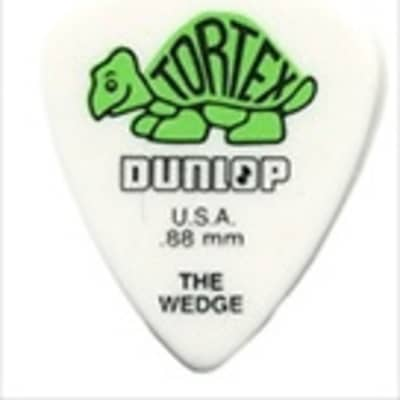 Dunlop Tortex Wedge Guitar Picks - .88mm - 72 Pack image