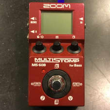 Zoom MS-60B MultiStomp for Bass, Excellent, Free Ship