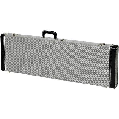Fender Strat/Tele Hardshell Case Regular Black Tweed Black Plush Interior