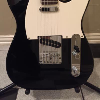 Carlson SG3 Tele Style Guitar Black for sale