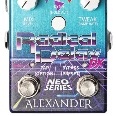 NEW!!! Alexander Pedals Radical Delay DX FREE SHIPPING!!!