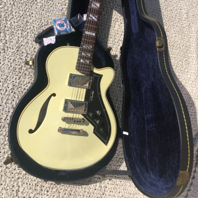 PEERLESS RETROMATIC P3 GUITAR w/ FACTORY PEERLESS HARD CASE & KEY for sale