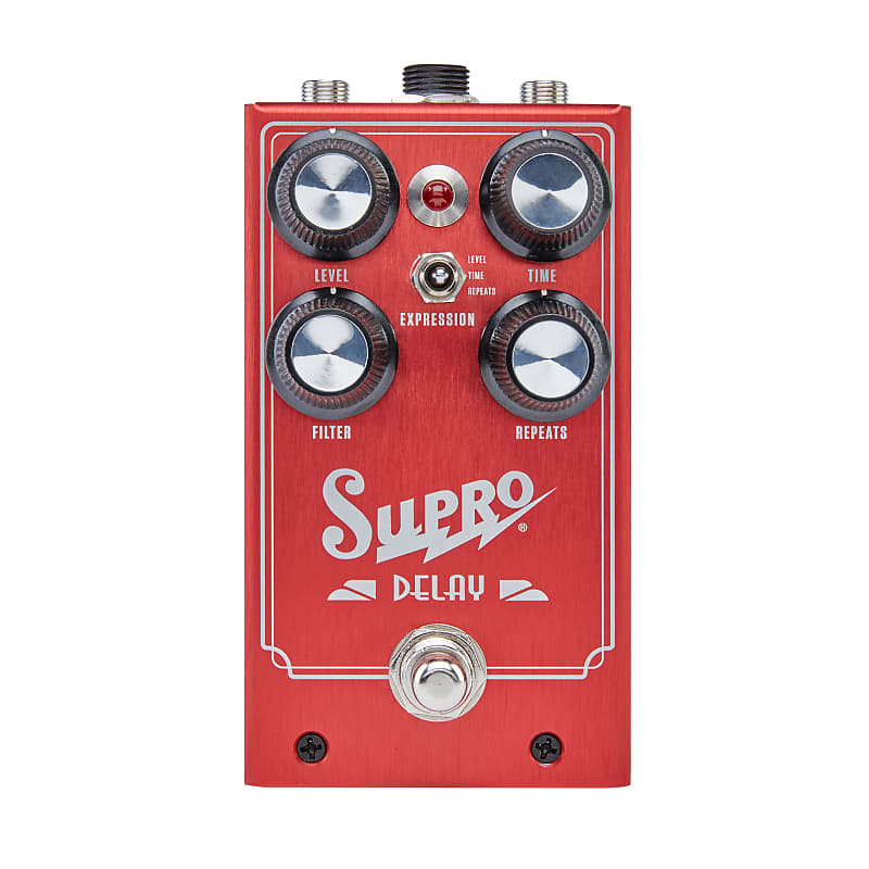 Supro 1313 Analog Delay Effects Pedal