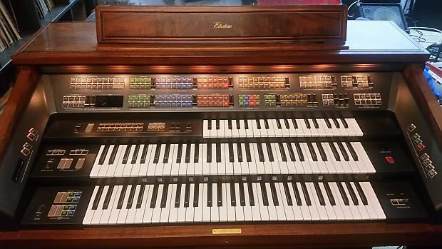 Yamaha FX-20 Console Professional Organ 1986 Walnut Stain