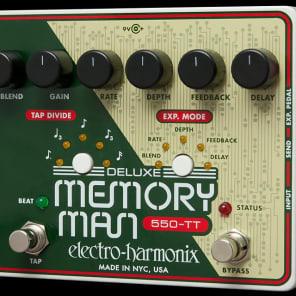 EHX Electro-Harmonix 550TT Dlx Memory Man w/Tap Tempo