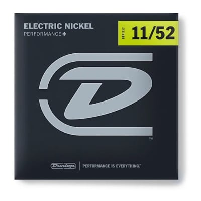 Dunlop  PERFORMANCE+ ELECTRIC  STRINGS 11-52 EIGHT SETS