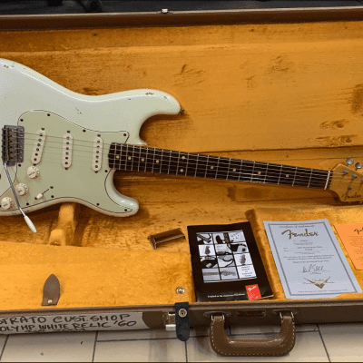 Fender Stratocaster Custom Shop '60 Relic 2001 Olympic White for sale