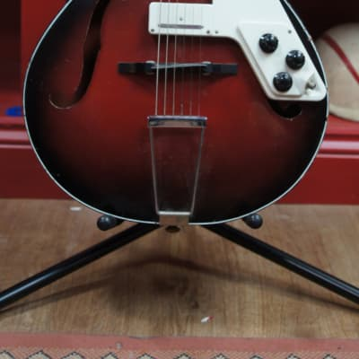 Rosetti Lucky 7 1960s Red Burst for sale