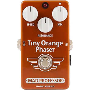 Mad Professor Hand Wired Tiny Orange Phaser for sale