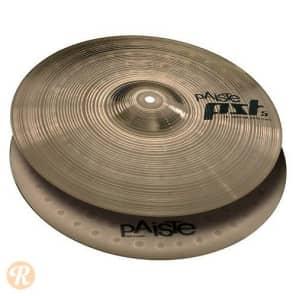 "Paiste 14"" PST 5 Medium Hi-Hat Cymbals (Pair) Traditional"