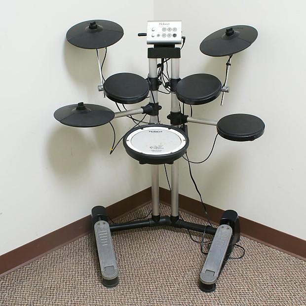 roland hd 1 v drum lite electronic drum kit reverb. Black Bedroom Furniture Sets. Home Design Ideas