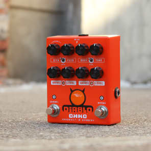 OKKO Diablo DUAL Overdrive Guitar Pedal for sale