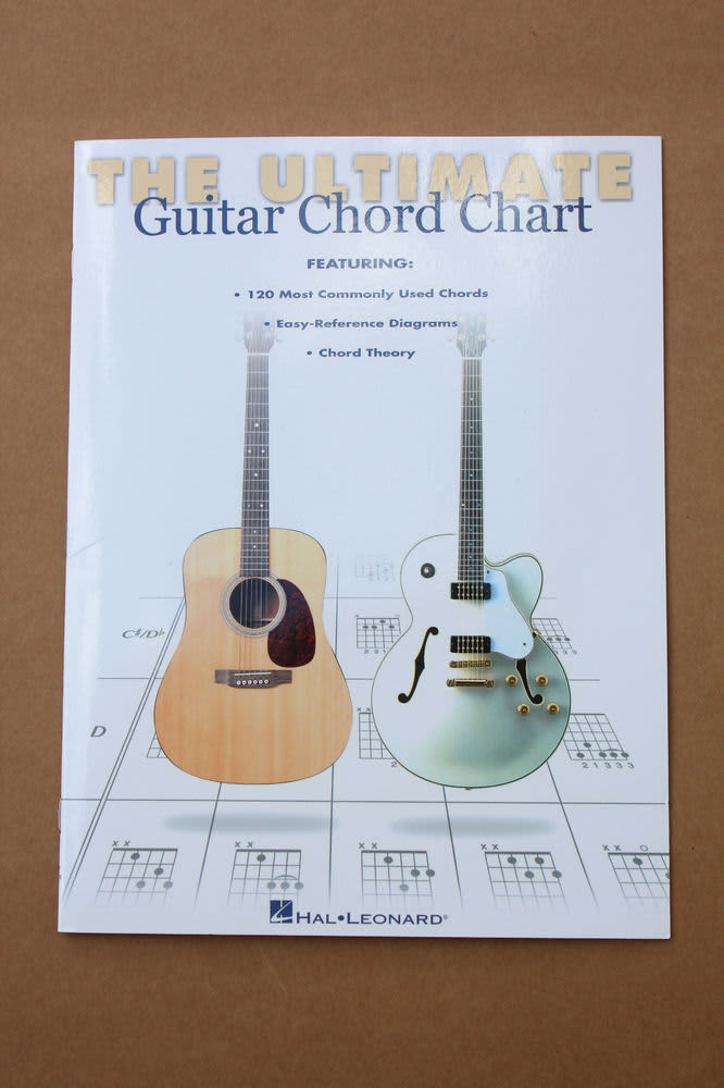 The Ultimate Guitar Chord Chart Hal Leonard Guitar Theory Reverb