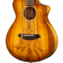 Breedlove Pursuit Exotic Companion Prairie Burst CE Myrtlewood, Acoustic-Electric