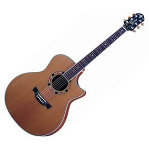 Crafter GAE15/N Acoustic Electric Guitar w/Case for sale