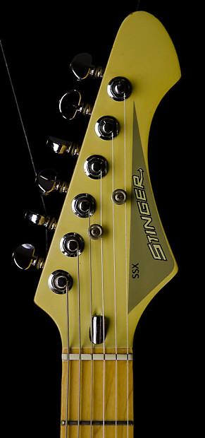 Vintage 80 S Cf Martin Stinger Ssx Electric Guitar Hard
