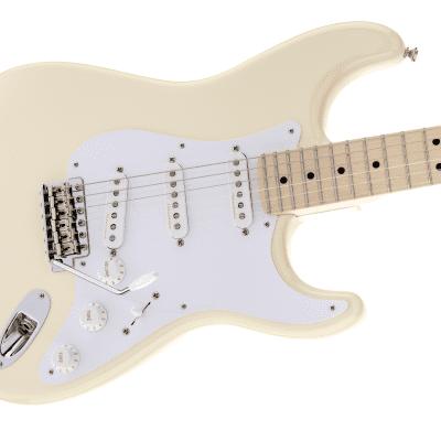 NEW! Fender Eric Clapton Stratocaster Olympic White Finish Authorized Dealer Warranty Tweed Case