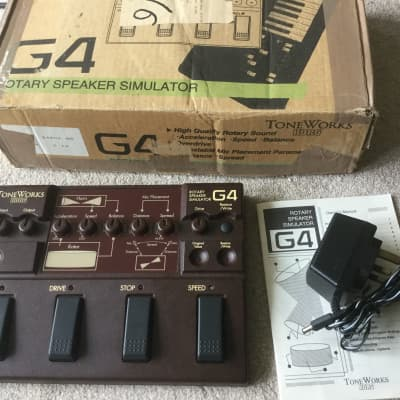 Korg ToneWorks G4 Rotary Speaker Simulator Mint for sale