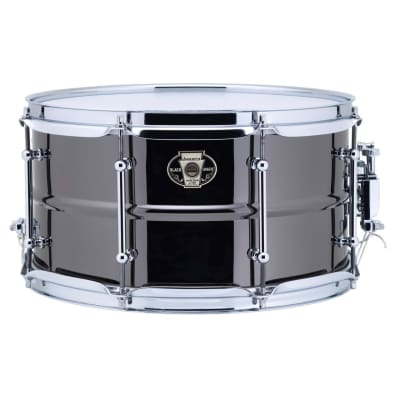 "Ludwig LW0713C Black Magic 7x13"" Brass Snare Drum with Chrome Hardware"
