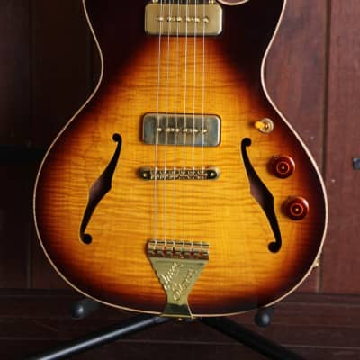 B&G Crossroads Series Little Sister Cutaway Semi-Hollow Electric Guitar for sale