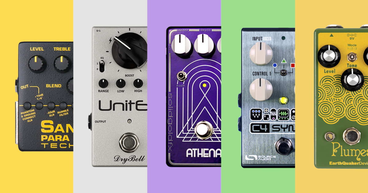 Video: Andy Martin Picks 5 Great Pedals for Bass Guitar