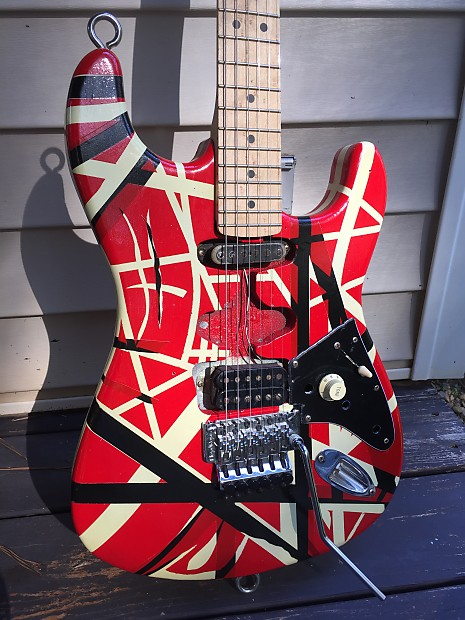 Warmoth Frankenstein Eddie tribute Van Halen guitar ...Eddie Van Halen Guitar Design