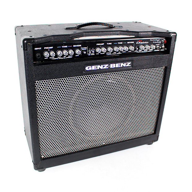 genz benz el diablo 60c 60w 1x12 tube combo amp reverb. Black Bedroom Furniture Sets. Home Design Ideas