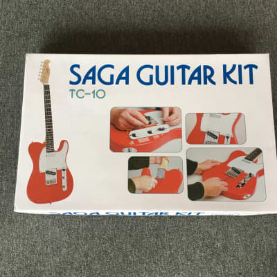 Saga T-Style Electric Guitar Kit for sale