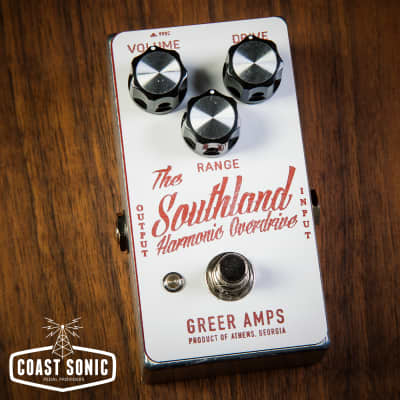 Greer Amps Southland Harmonic Overdrive Effects Pedal