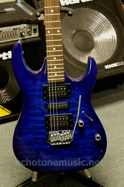 ibanez gio grx70 electric guitar transparent blue burst reverb. Black Bedroom Furniture Sets. Home Design Ideas