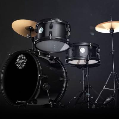 Ludwig Pocket kit in Black Sparkle