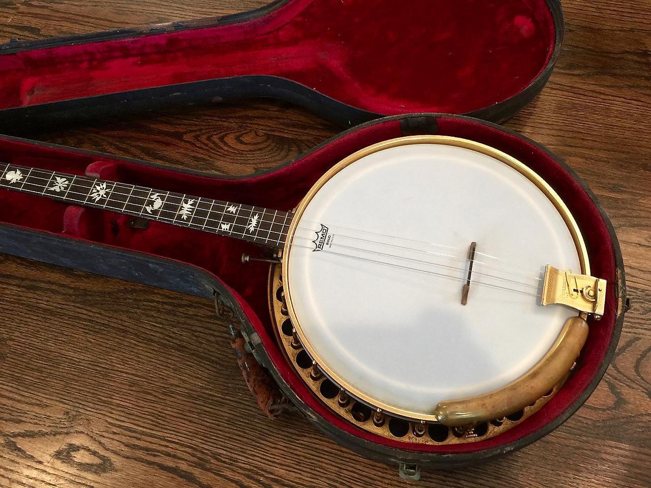 1928 Paramount Style F Tenor Banjo